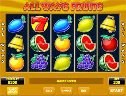 Allways Fruits gokkast