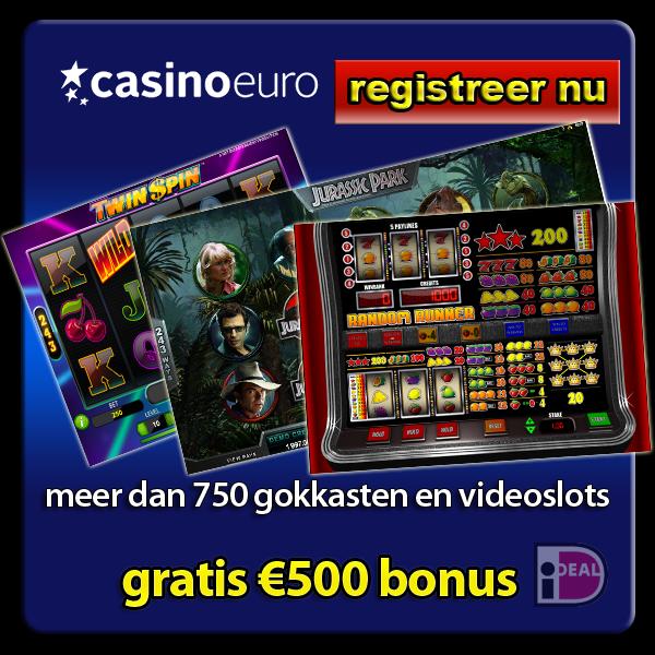 750 gokkasten bij CasinoEuro