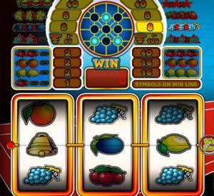 Winst dankzij Scatter-symbolen op de Game 2000