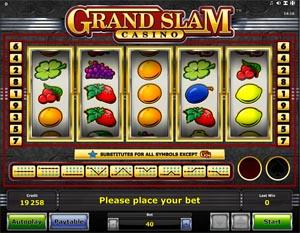 Grand Slam Casino videoslot