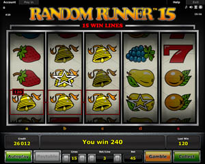 Random Runner 15 Gokkast