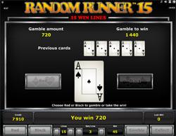 Random Runner 15 Gamble spel