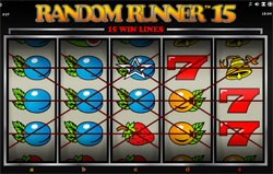 Random Runner 15 winlijnen