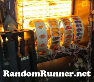 De achter kant van een Runner Unlimited