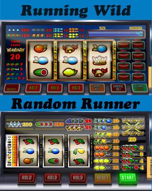Running Wild vergeleken met de Random Runner