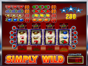 Simply Wild bovenspel 7-7-7